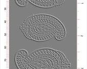 A433 Rolling Mill (Indian Cotton Printing Block) Luxe Texture Collection, Low relief pattern