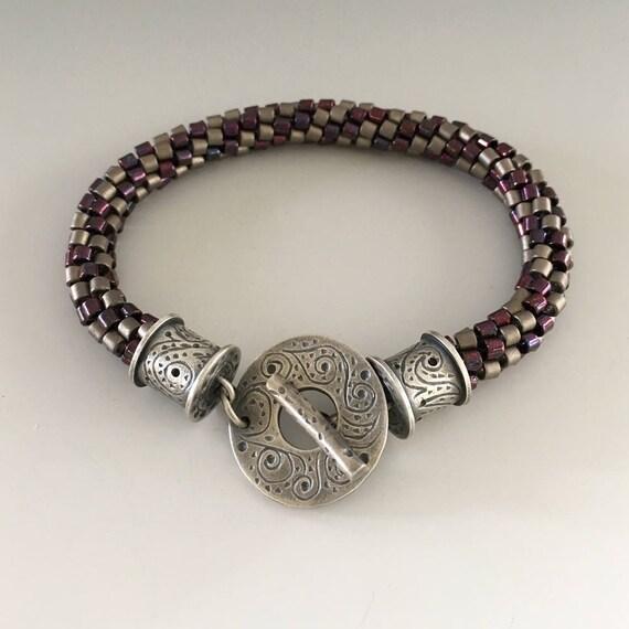 Kumihimo Jewelry | Beaded Bracelet | Braided Bracelet