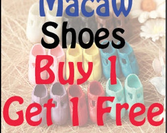 Buy 1 get 1 Free Macaw shoes