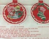 strawberry shortcake christmas learn to sew ornaments