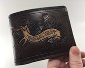 Well, Shit.  A Hand Tooled Leather Wallet of Resgination