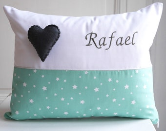 Child pillow - Rafael / Birth gift / Baby gift / Toddler gift / Boy Girl / Bedroom decoration