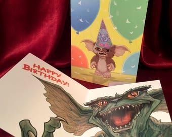 GREMLINS Birthday Card!