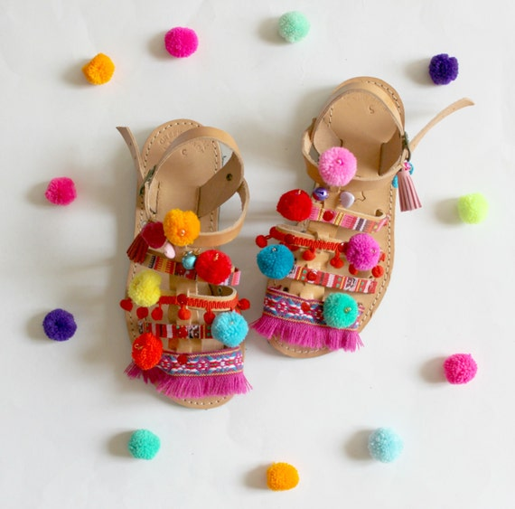 SALE baby sandals, baby shoes, baby boho sandals, baby gladiators, toddler sandals, children's sandals, kids gladiators