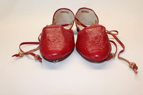 DAY SALE Red ballet flats, leather ballet flats .Leather ballet flats   leather ! Womens flats, leather womens slip ons