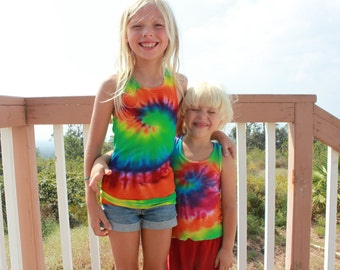 Tie Dye Youth Tank Top size 4T