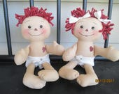 Baby Raggedy Ann and Andy