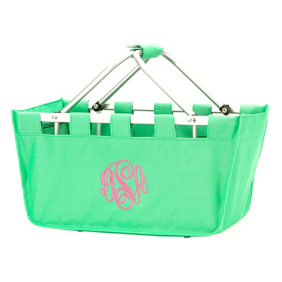 Mini Market Tote in Mint Green