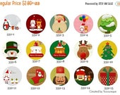 Moving 50off Sale - New Collection - 12mm/20mm Christmas Handmade Photo Glass Cabochon CPC332