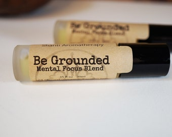 Be Grounded Roll On for Mental Focus and Grounding