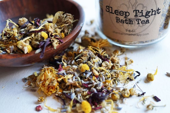 Chamomile Bath Tea - Sleep Tight - Aromatherapy for Relaxation - Stress Relief - gifts for Mom - gifts for women