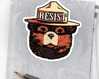Vinyl Sticker - Resist (Multiple colors to choose from)
