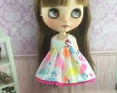 Blythe Dress - Flamingos