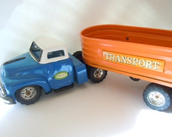 Wales Transport Truck Japan Tin Toy Collectible