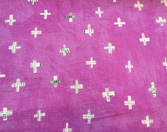 Flying in Orchid, Dreamer Collection by Carrie Bloomston for Windham Fabrics, 1/2 yd