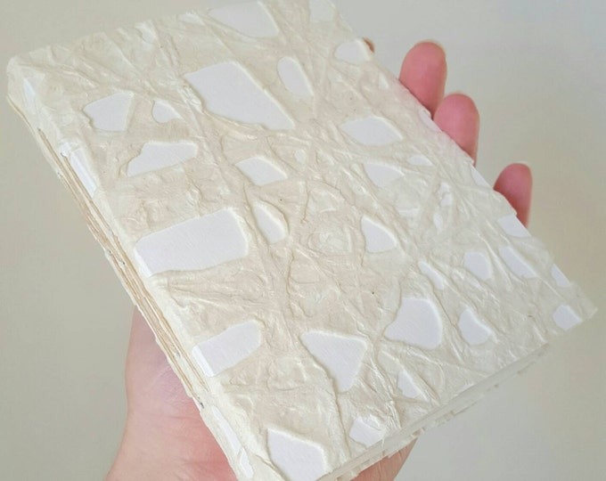 Delicate Lace Book - Thai Lace Cover - Love Letters Notebook - Poetry Book - Artist's Book