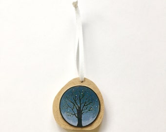 Christmas Ornament Silent Night Tree
