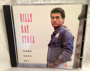 "Billy Ray Cyrus ""Some Gave All"" CD"