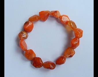SALE!! Red Agate Gemstone Pendant Bead Set,Beaded Bracelets,12x10x6mm,15.9g(c0060)