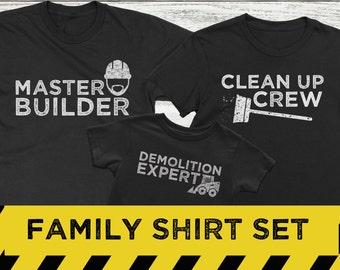 Family Shirt Set, Family Photo Shirts, Matching family shirts, Funny Family Shirts, Family Shirts, Family Shirts for Photos
