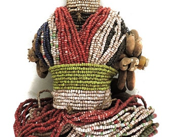 Fali Fertility Doll Phallic Cameroon African Art 107948 SALE WAS 290