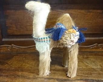 Vintage Tunisian Souvenir Camel Ornament Figurine Gift circa 1960-70's / English Shop
