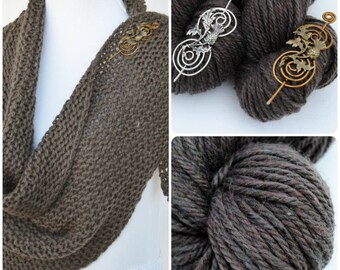 Shawl Kit Inspired by Outlander with Shawl Pin