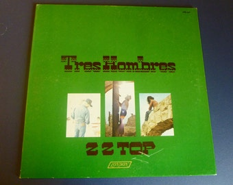 ZZ Top Tres Hombres Vinyl Record XPS 631 London Records 1973