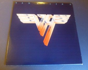 Van Halen II Vinyl Record HS 3312 Warner Bros records 1979
