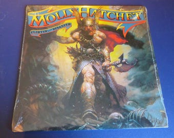 Molly Hatchet Flirtin' With Disaster Vinyl Record JE 36110 Epic Records 1979