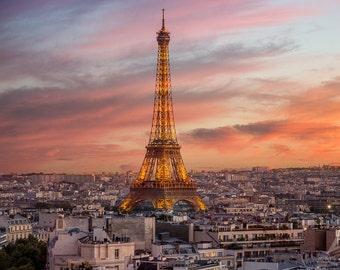 Eiffel Tower Paris - 8x10 Fine Art Print