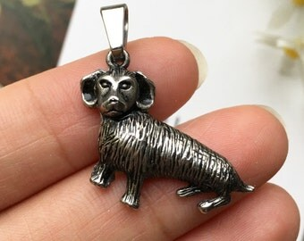 Dog Stainless Steel Pendant