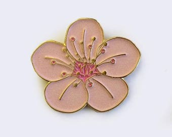 Sakura Cherry Blossom Enamel Pin (Glow-in-the-Dark)