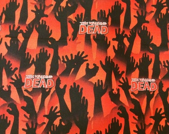 Cotton character fabric - The Walking Dead