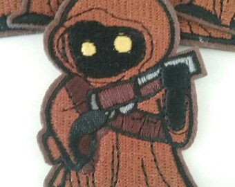 Star Wars JAWA Iron on Patch