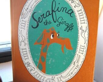1961 First Edition Serafina the Giraffe by Laurent de Brunhoff