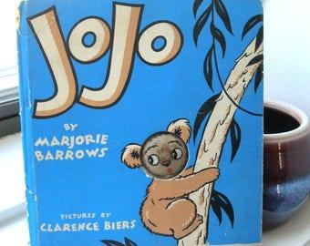 First Edition JoJo Book by Marjorie Barrows / Glowing Eye Book 1944