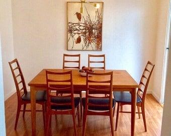 Koefoeds Hornset danish Modern Dining Set