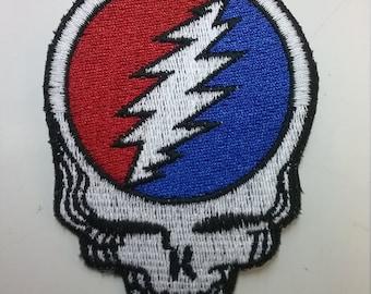 Grateful Dead Skull Patch