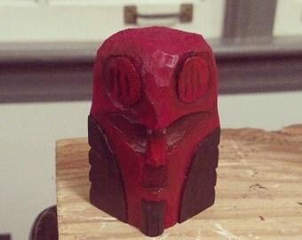 Wooden Hellboy