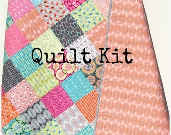 Construction Quilt Kit Baby From The Ground Up By