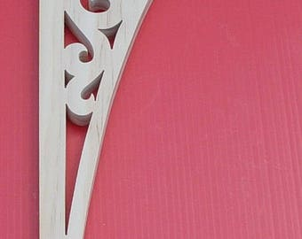 Victorian Gingerbread  Fretwork Wood Brackets / Shelf Brackets / Wood Brackets / Screen Door Brackets