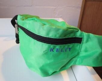 Vintage Lime Green KELTY Fanny Pack - Kelty Bum Bag