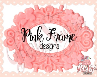 Premade Logo-Pink Frame-Logo Design-Watermark-Business Branding-Pre-made Logos-Small Business-Boutique-Photography-Bakery-Florist-Stylist