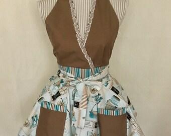 Halter top apron