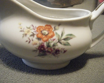 Madson Ceramic Gravy Boat / Marked Occupied China // Chinaware