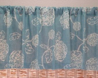 Magnolia Home Fashion Valance Kitchen Curtain Kitchen Valance Modern Valance 52x12 52x14 52x16 52x18