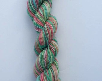 Easter / Handspun yarn / 142 yards / 1 ply