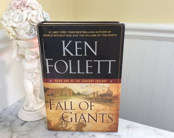 Hidden Jewelry Box Book Safe,Fall of Giants,Ken Follett
