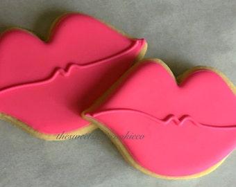 Lip cookies 2 dozen